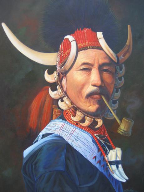 Sai Than Tun - Naga man