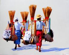 Phoe San - Broom Sellers