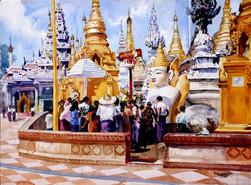 Ko Maung Win Hla - Pagoda