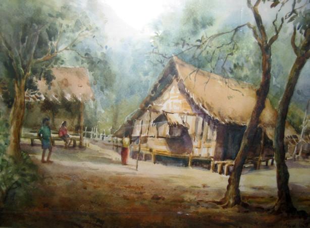 San Latt - Village Hut