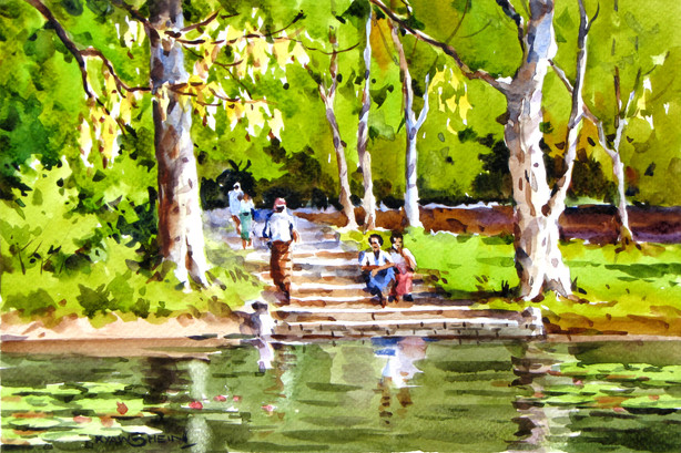 Kyaw Shein - Kandawgyi Lake