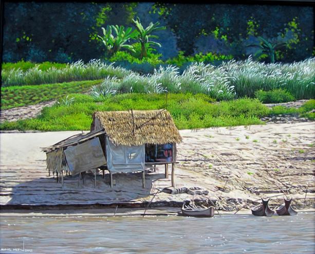 Aung Hein - Fisherman Hut