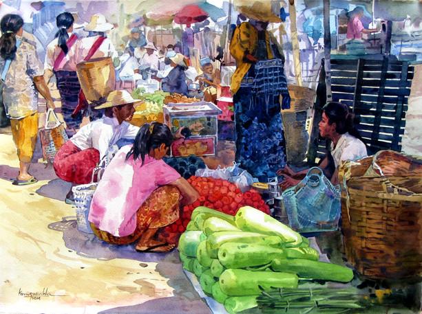 Ko Maung Win Hla - Taunggyi Market 20