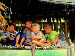 Aye Aung - Children Gathering