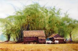 Khin Maung Myint - Paddy Hut 1