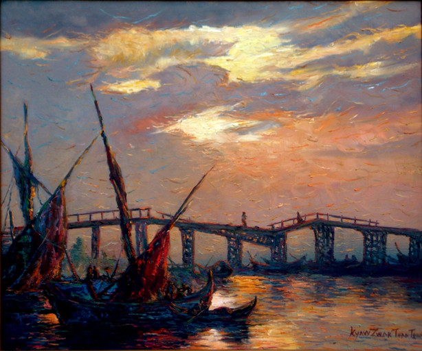 Kyaw Zwar Thant - Broken Bridge