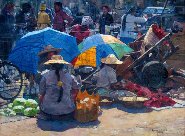 Ko Maung Win Hla - Ze Cho Market