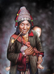 Than Tun - Mother and Son