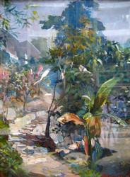 Mg Kyaw Nyunt - Banana Tree