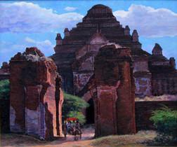 Zaw Min - Dhamayangyi Temple in Bagan