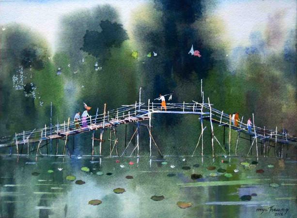 U Mya Thaung - Bridge