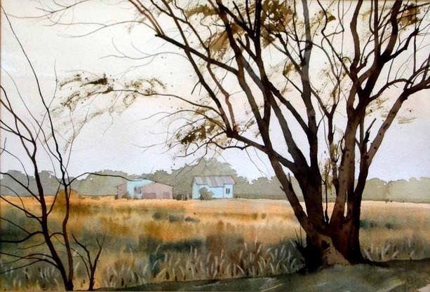 Moe Nyo - House in the Field