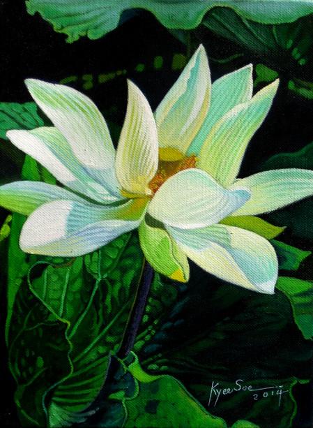 Kyee Soe - White Lotus