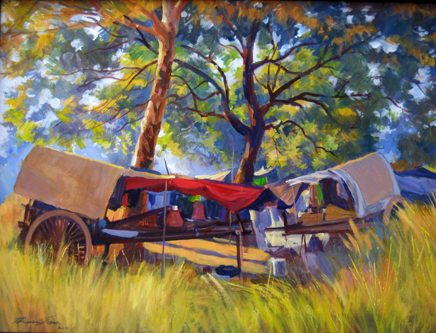 Than Soe - Bullock Cart Camping