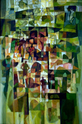 Tin Maung Oo-Green Villagers-2000