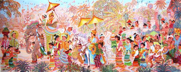 Shwe Kyaw Lin - Ordination Ceremony