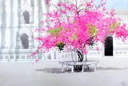 Moe Nyo - Red Flowers 3