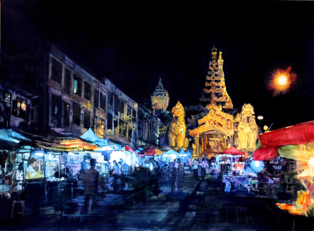 Ko Maung Win Hla - Shwedagon Night
