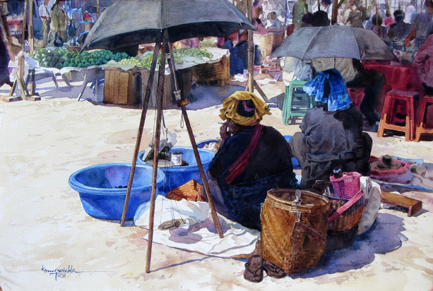 Ko Maung Win Hla - Taunggyi Market 01