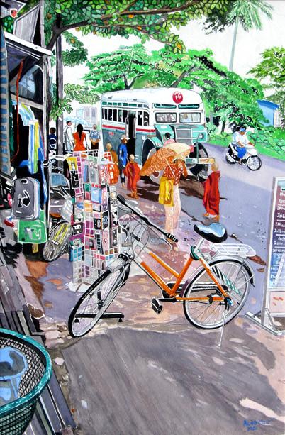 Aung Min - Bus Stop