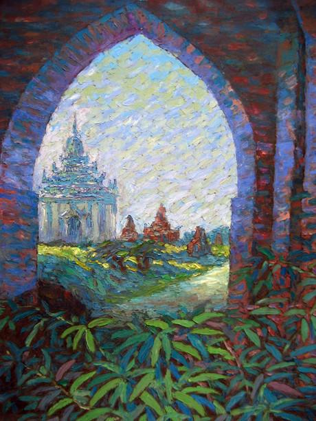 U Ba Win - Pagoda Entrance