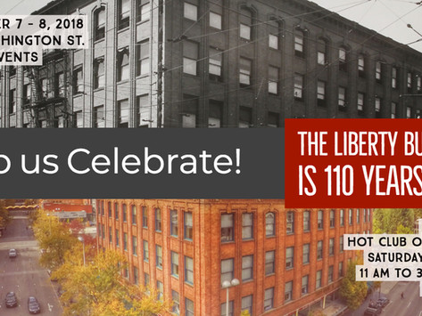 The Liberty Building's 110 Year Anniversary Party!