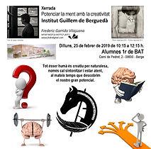 TALLER IGB_Potenciar la ment amb la crea
