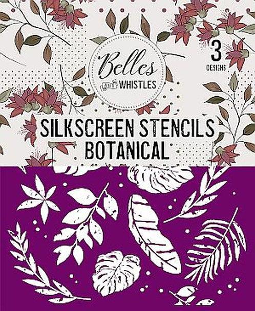 Botanical Silkscreen Stencil
