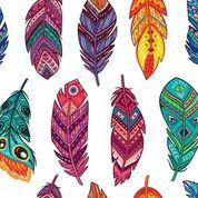Feathers Decopauge Paper