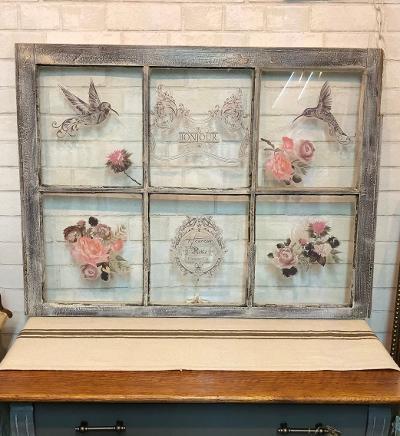 Shabby Decorative Window