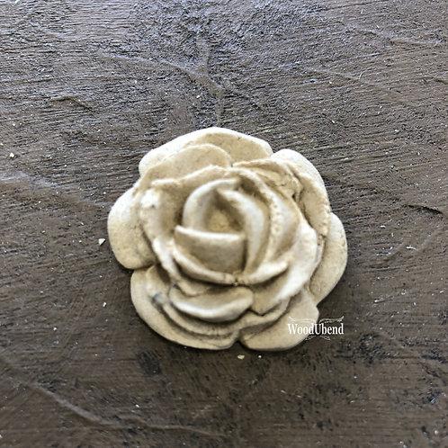 Rose Medium WoodUBend Applique