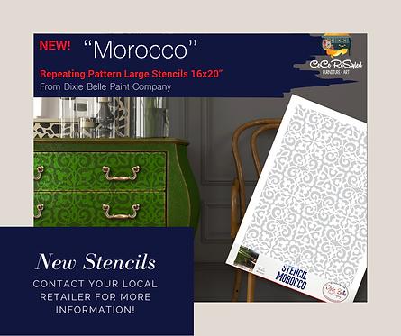 Morocco Stencil