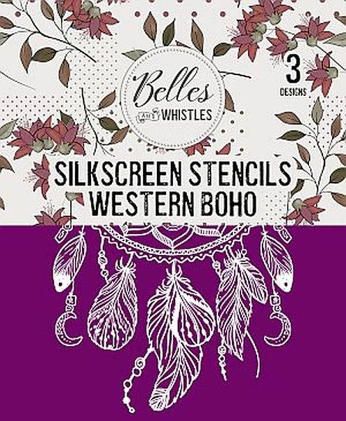 Western Boho - Silkscreen Stencil