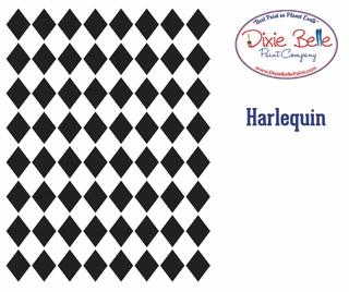 Harlequin Stencil