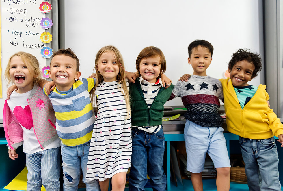 group-of-diverse-kindergarten-students-s