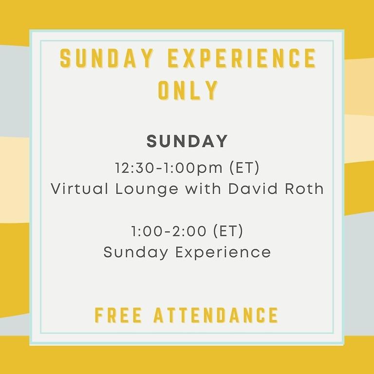Unity Canada Sunday Experience