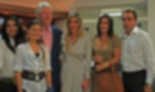 Azucena Benedetti Guauque, María Camila Jattin Benedetti, Bill Clinton, Angela Benedetti Villaneda, Angelina Castro, Armando Benedetti Villaneda