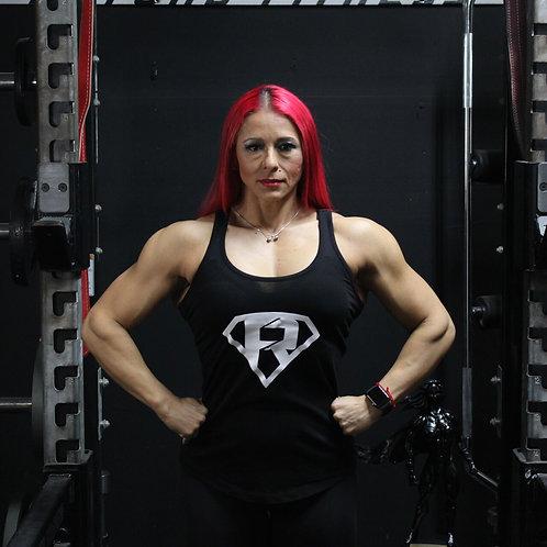 Women's Black Razor (FR Logo) Tank