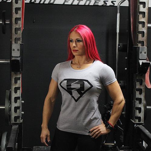 Women's #touchnewweights Grey Shirt