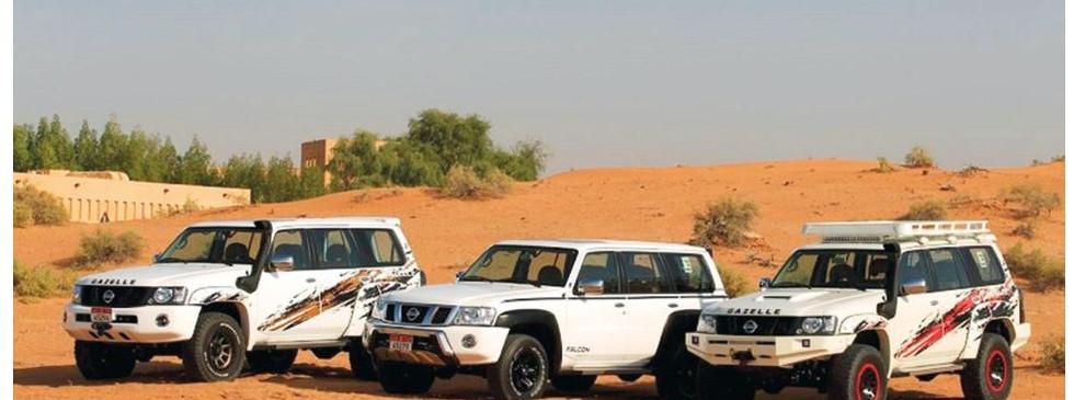 Nissan Patrol Gazelle line up