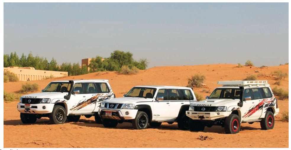 Nissan Patrol Gazelle line up