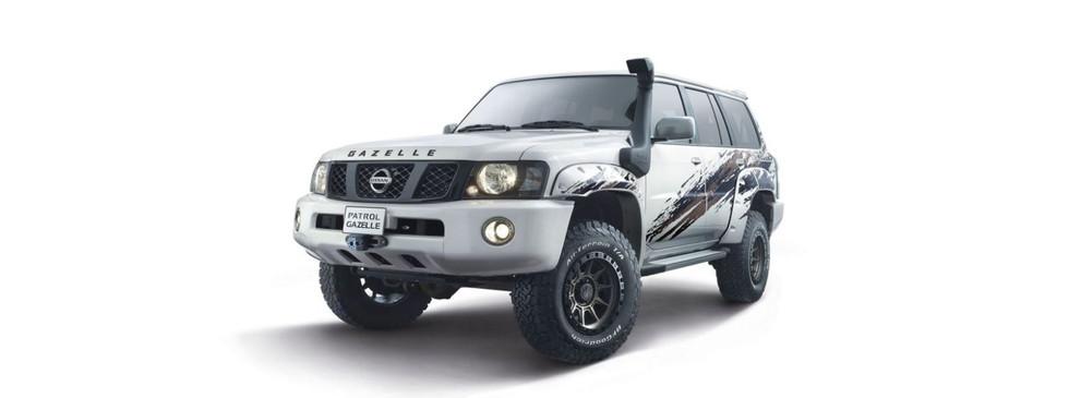 Nissan Patrol range