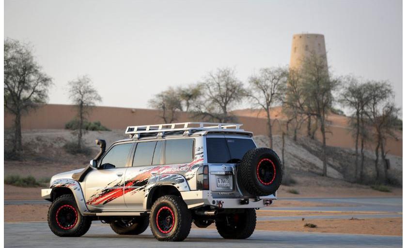 Nissan Patrol Gazelle rear