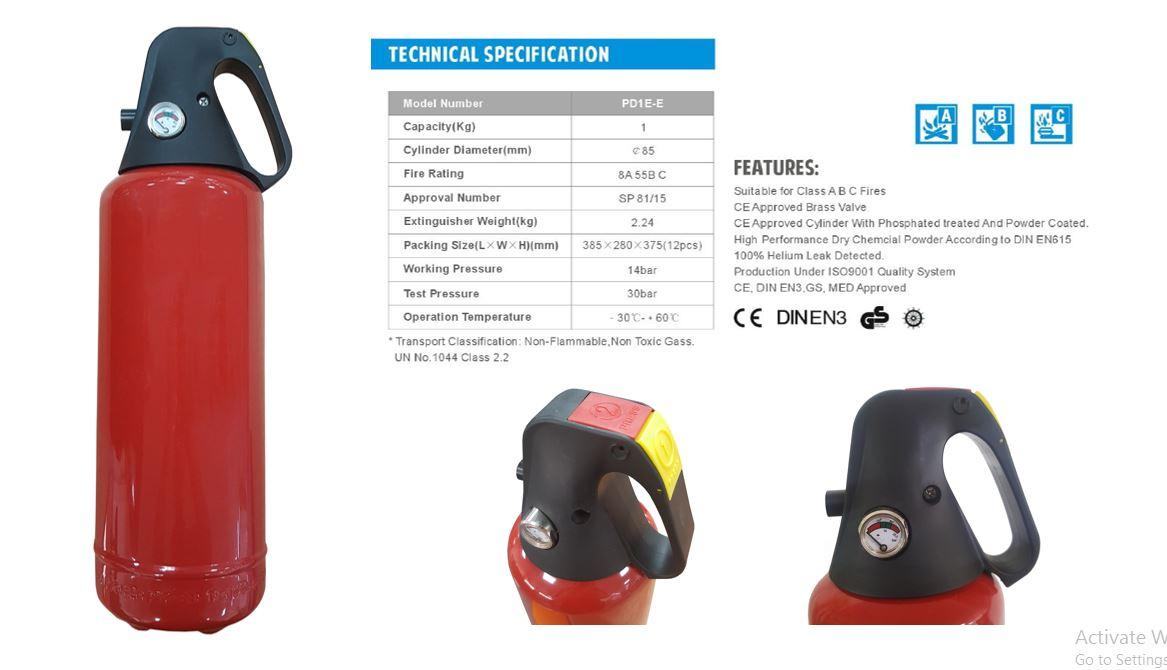 Quick Release Extinguisher