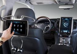 Rear seat Audio control