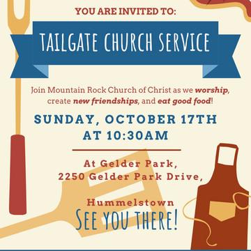 Tailgate Sunday Service
