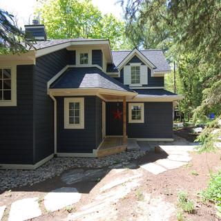 Side of Blue Cottage