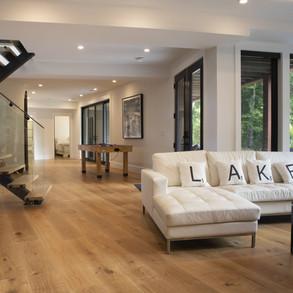 Lower Level of Large Modern Cottage