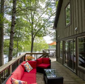 Wraparound Porch in New Cottage Build
