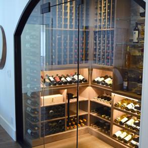Custom Wine Room in Cottage